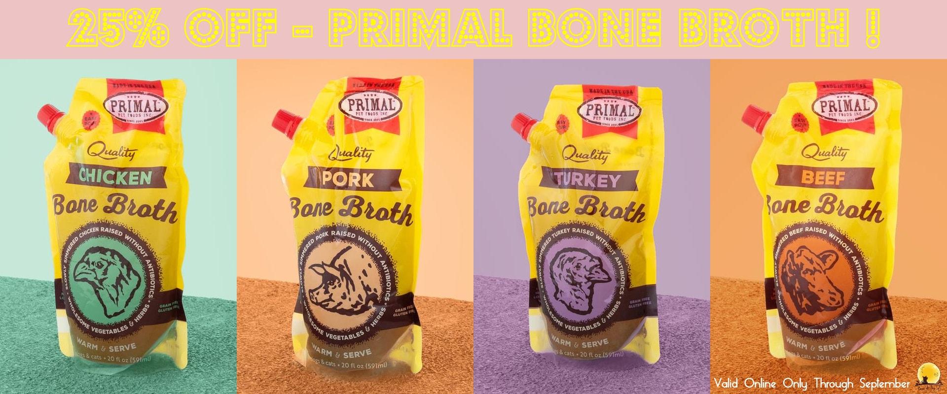 Primal, bone broth
