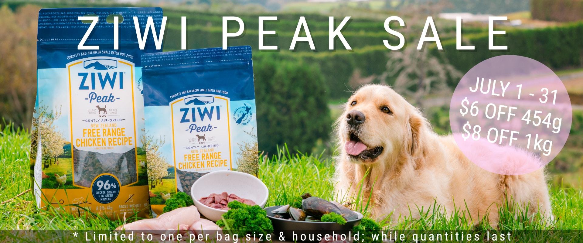 Ziwi peak dog food, dehydrated dog food