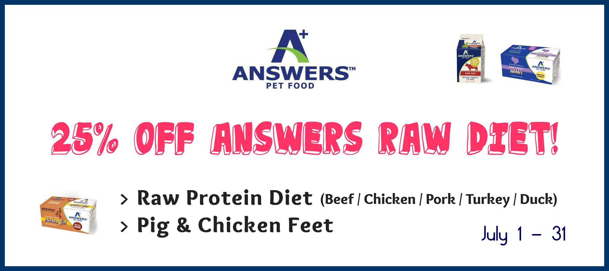 answers dog food, raw dog food